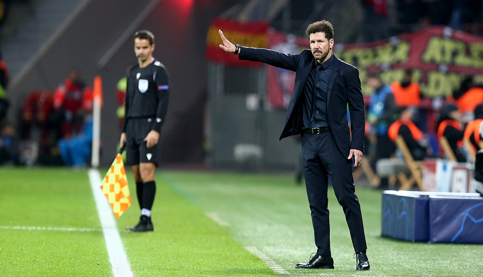 Temp. 19/20 | Bayer Leverkusen-Atlético de Madrid | Simeone