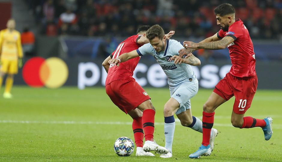 Temp. 19/20 | Bayer Leverkusen-Atlético de Madrid | Saúl