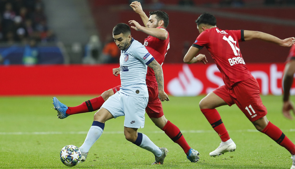 Temp. 19/20 | Bayer Leverkusen-Atlético de Madrid | Correa