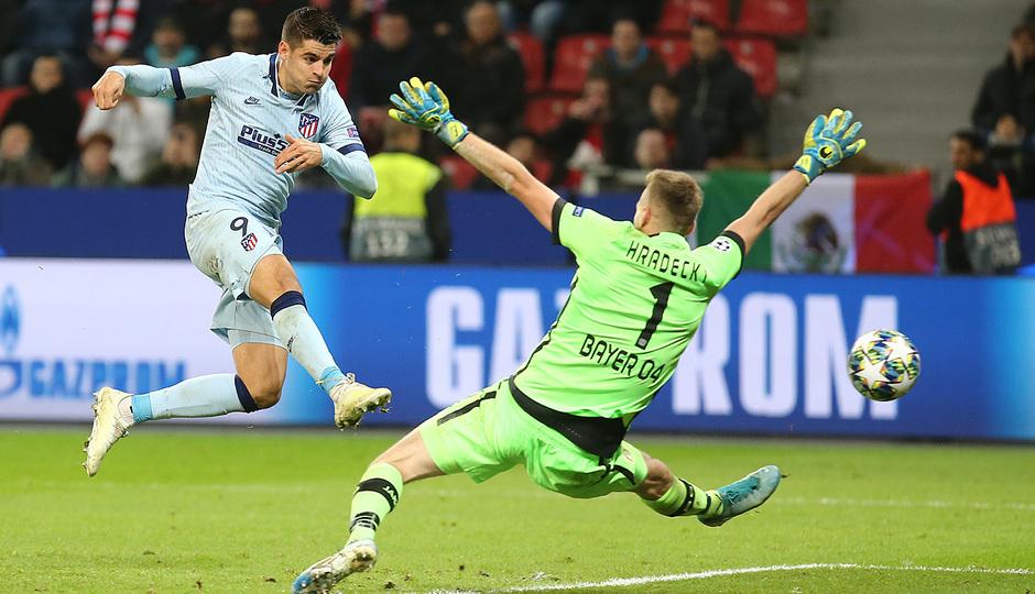 Temp. 19/20 | Bayer Leverkusen-Atlético de Madrid | Morata