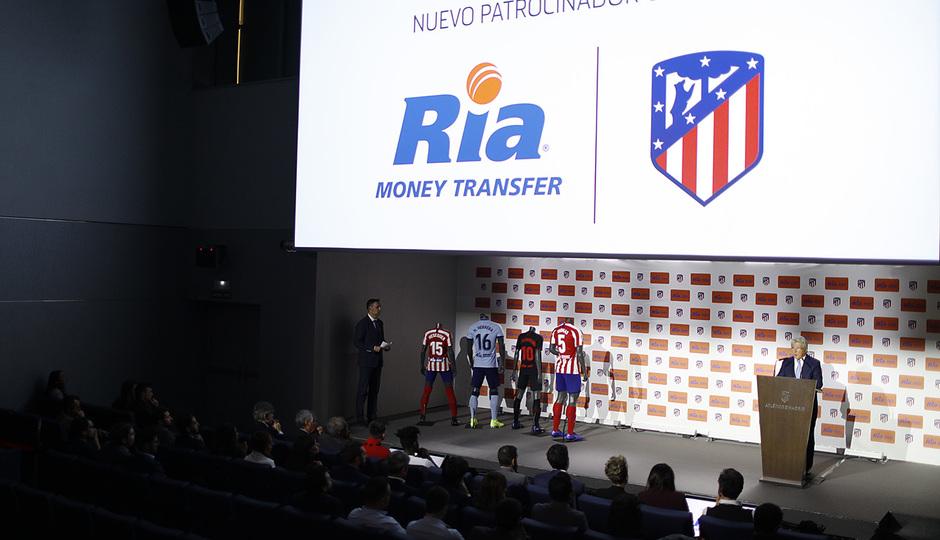 Temporada 19/20. Acto acuerdo patrocinio Ria.