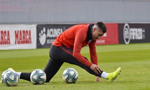 Temp. 19-20 | entrenamiento primer equipo 09/11/2019. Herrera