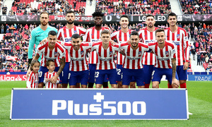 Temporada 19/20 | Atlético-Espanyol | Once