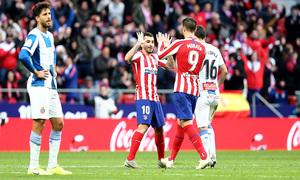 Temporada 19/20 | Atlético-Espanyol | Correa y Morata