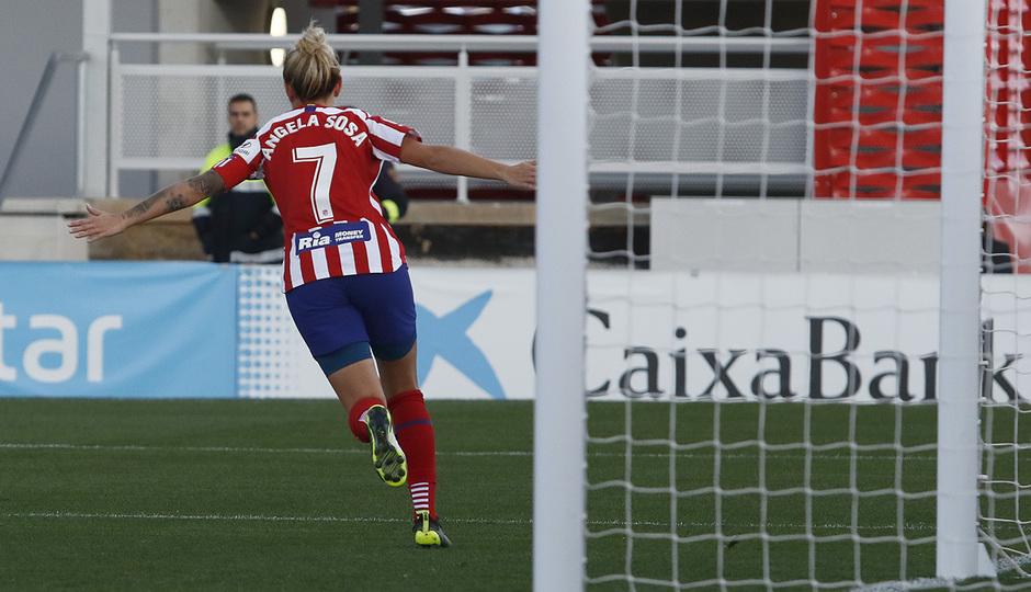 Temp 19/20 | Atlético de Madrid Femenino - Espanyol | Sosa celebración