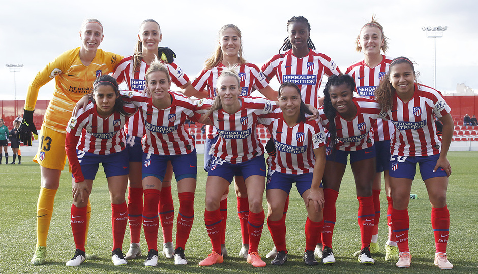 Temp 19/20 | Atlético de Madrid Femenino - Espanyol | Once