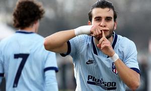 Temp. 19/20. Youth League. Juventus-Atlético de Madrid Juvenil A. Alberto Salido