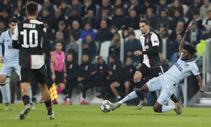 Temp. 19/20. Liga de Campeones. Juventus-Atlético de Madrid. Thomas