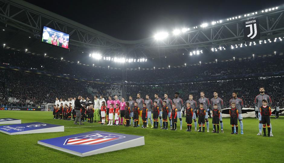 Temp. 19/20. Liga de Campeones. Juventus-Atlético de Madrid. Onces