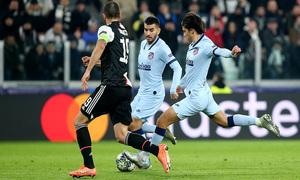Temp. 19/20. Liga de Campeones. Juventus-Atlético de Madrid. Joao
