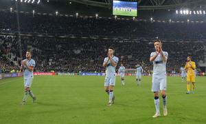 Temp. 19/20. Liga de Campeones. Juventus-Atlético de Madrid. afición