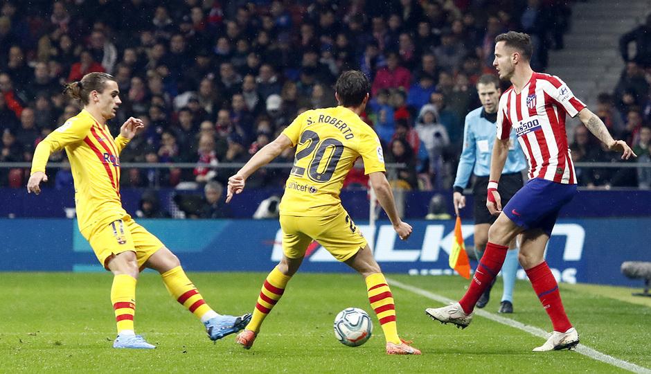 Temp. 19-20 | Atlético de Madrid-Barcelona | Saúl
