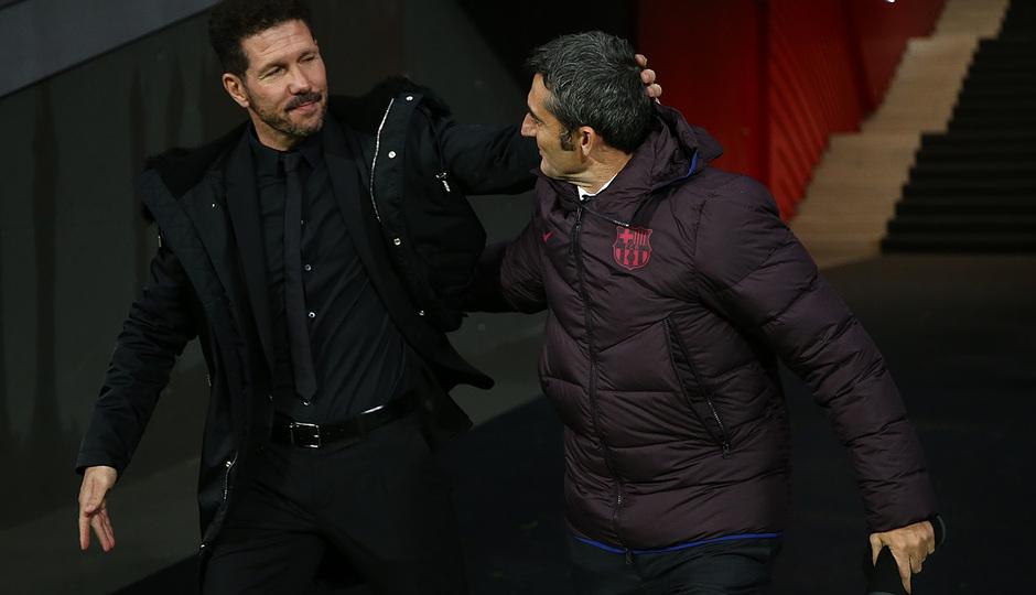 Temp. 19-20 | Atlético de Madrid-Barcelona | Simeone y Valverde