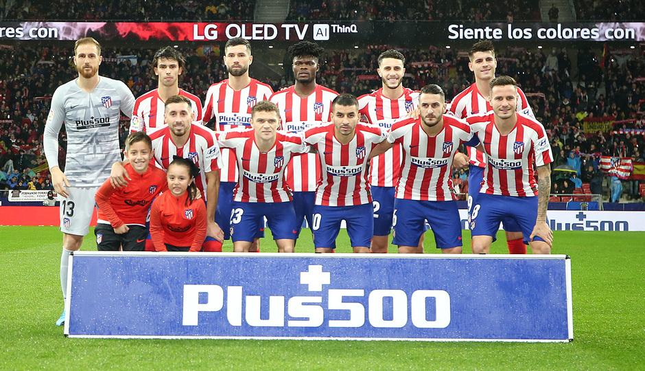 Temp. 19-20   Atlético de Madrid-Barcelona   Once