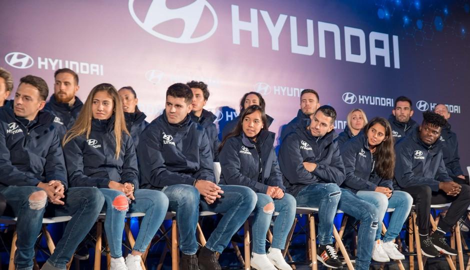 Temp. 19/20. Acto de Hyundai. Wanda Metropolitano.