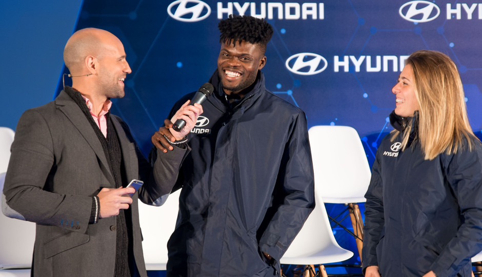 Temp. 19/20. Acto de Hyundai. Wanda Metropolitano. Thomas y Menayo