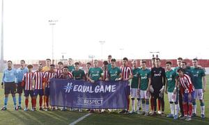 Temporada 19/20. Youth League. Atlético de Madrid Juvenil A - Lokomotiv. Onces ambos equipos