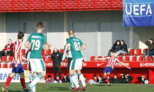 Temporada 19/20. Youth League. Atlético de Madrid Juvenil A - Lokomotiv. Medrano