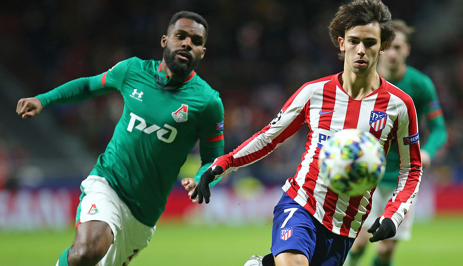 Temp 19/20 | Atlético de Madrid - Lokomotiv | Joao Félix