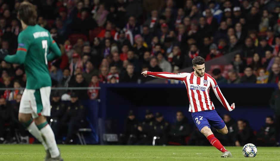 Temp. 19-20 | Atlético de Madrid - Lokomotiv | Hermoso