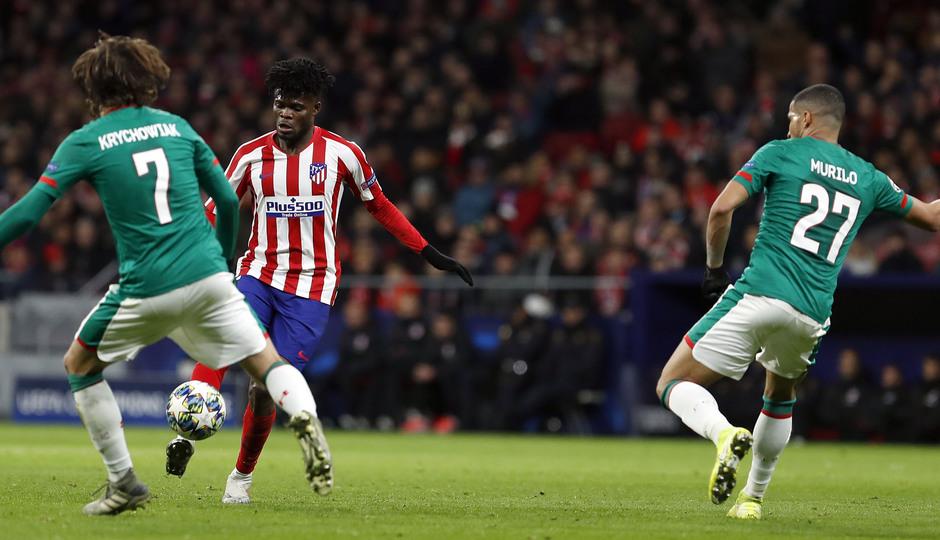 Temp. 19-20 | Atlético de Madrid - Lokomotiv | Thomas