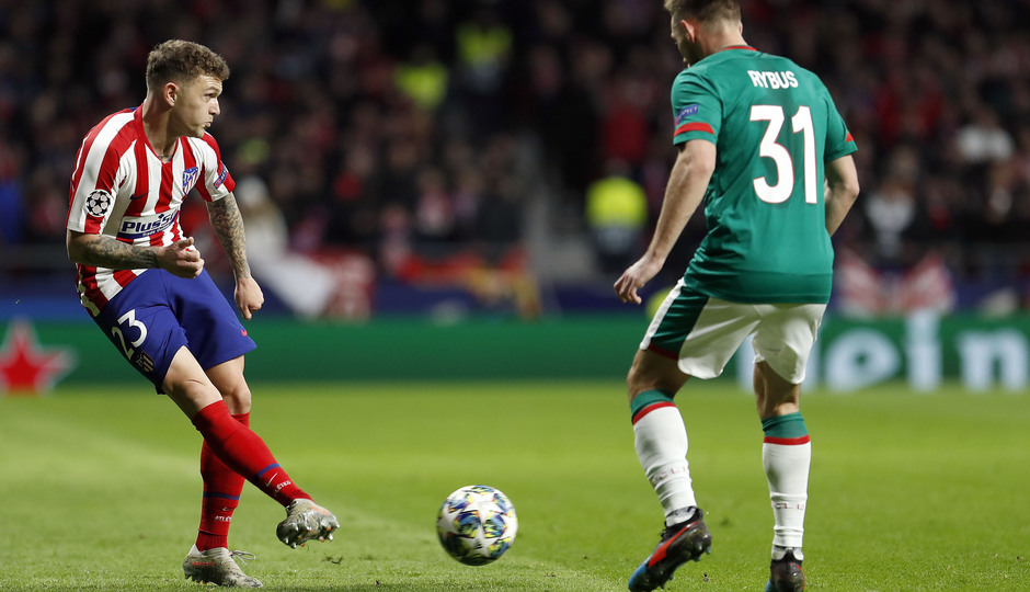 Temp. 19-20 | Atlético de Madrid - Lokomotiv | Trippier