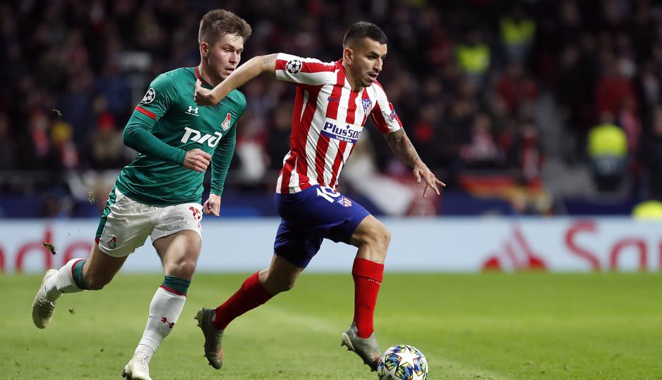 Temp. 19-20 | Atlético de Madrid - Lokomotiv | Correa