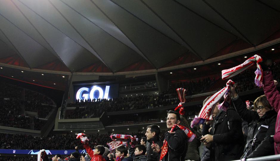 Temp. 19-20 | Atlético de Madrid - Lokomotiv | afición