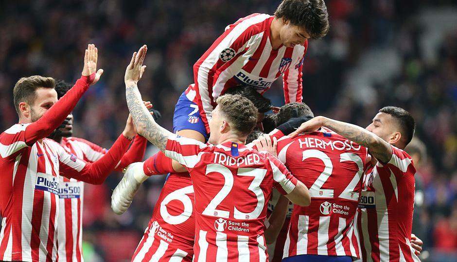 Temp. 19-20 | Atlético de Madrid - Lokomotiv | Celebración