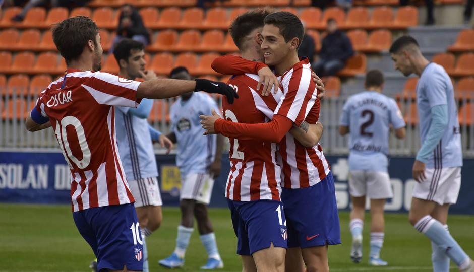 Temporada 19/20 | Atlético de Madrid B - Celta B | Gol Sanabria