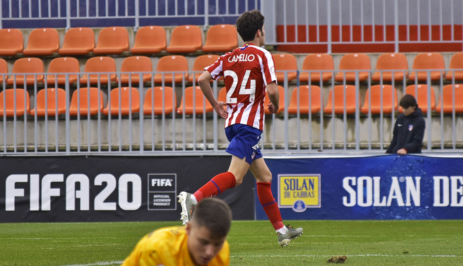 Temporada 19/20 | Atlético de Madrid B - Celta B | Camello