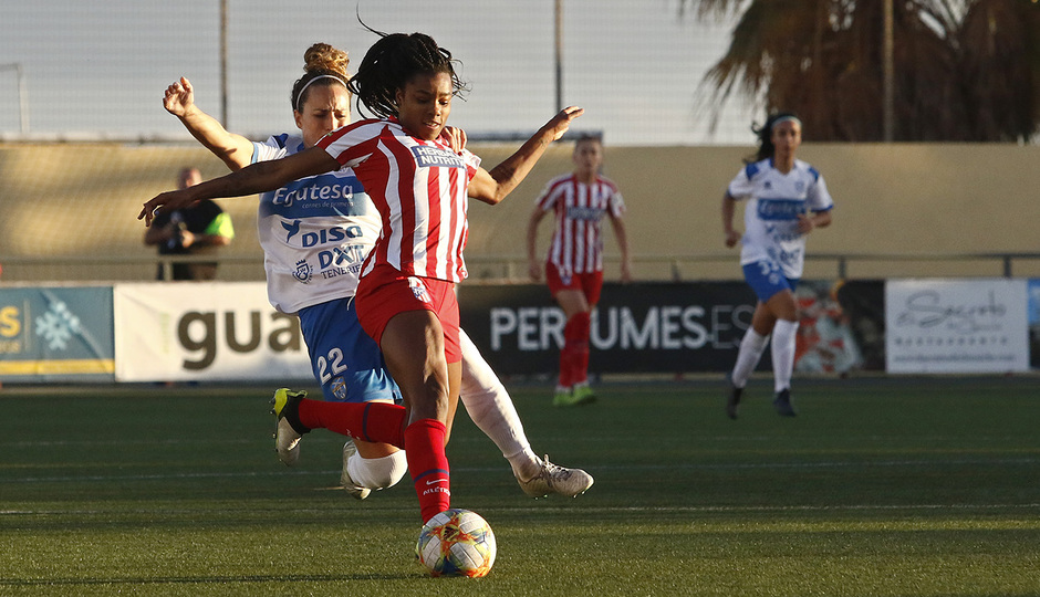 Temp 2019-20 | Granadilla Tenerife - Atlético de Madrid | Ludmila