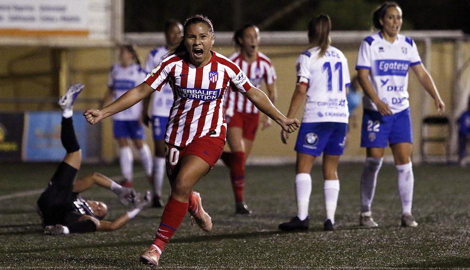 Temporada 18/19 | Granadilla Tenerife - Atlético de Madrid Femenino | Santos