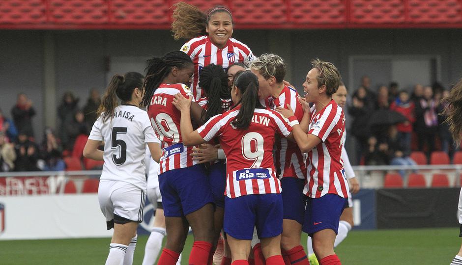 Temporada 19/20 | Atleti femenino - Tacón | Celebración