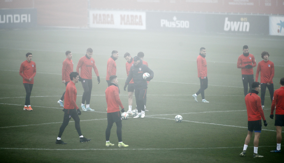 Temporada 19/20. Entrenamiento en la Ciudad Deportiva Wanda