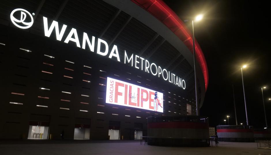 Temporada 19/20. Atleti - Levante | Filipe