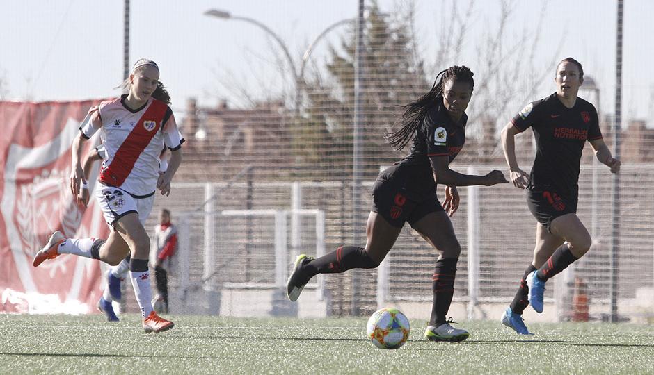 Temp. 19-20 | Rayo Vallecano - Atlético de Madrid Femenino | Ludmila