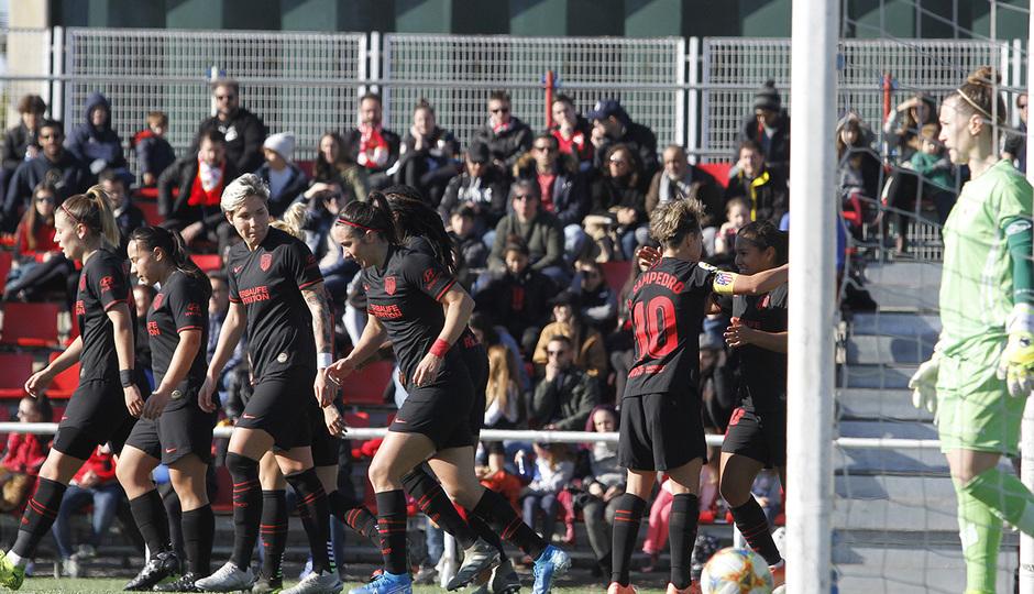 Temp. 19-20 | Rayo Vallecano - Atlético de Madrid Femenino | Celebración