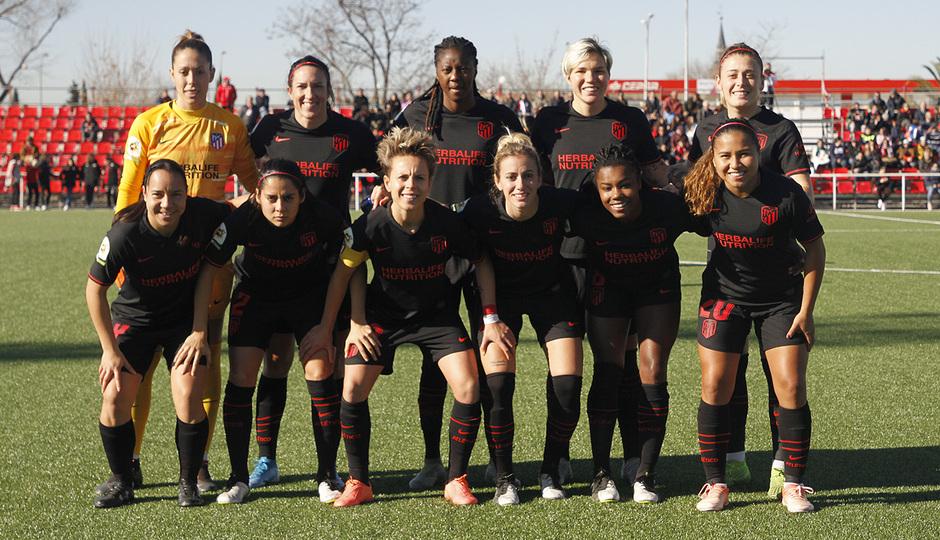Temp. 19-20 | Rayo Vallecano - Atlético de Madrid Femenino | Once