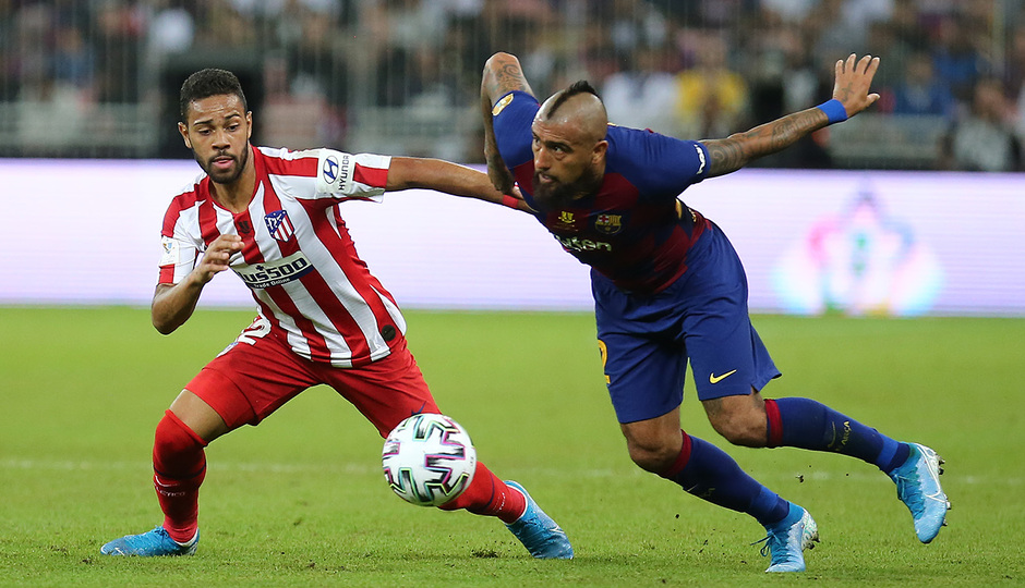 Temp. 19-20   Supercopa de España   FC Barcelona - Atlético de Madrid   Lodi