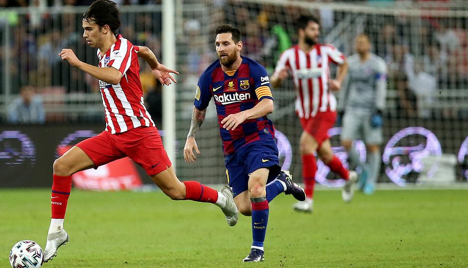 Temp. 19-20 | Supercopa de España | FC Barcelona - Atlético de Madrid | Joao Félix