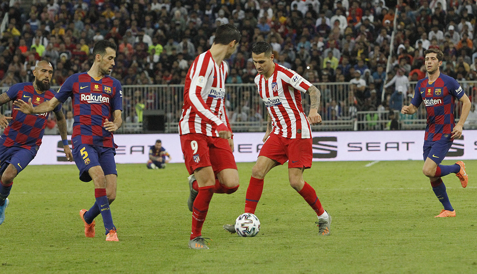 Temp. 19-20   Supercopa de España   FC Barcelona - Atlético de Madrid   Vitolo