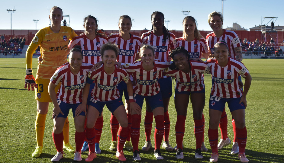 Temporada 19/20 | Atlético de Madrid Femenino - Sporting de Huelva. Once