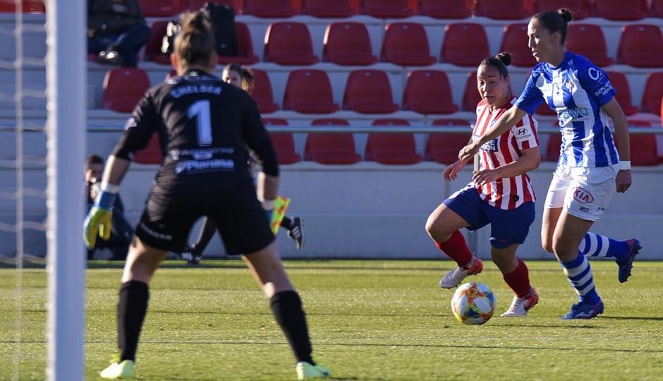 Temporada 19/20 | Atlético de Madrid Femenino - Sporting de Huelva. Charlyn