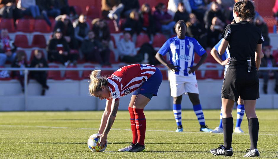 Temporada 19/20 | Atlético de Madrid Femenino - Sporting de Huelva. Ángela Sosa
