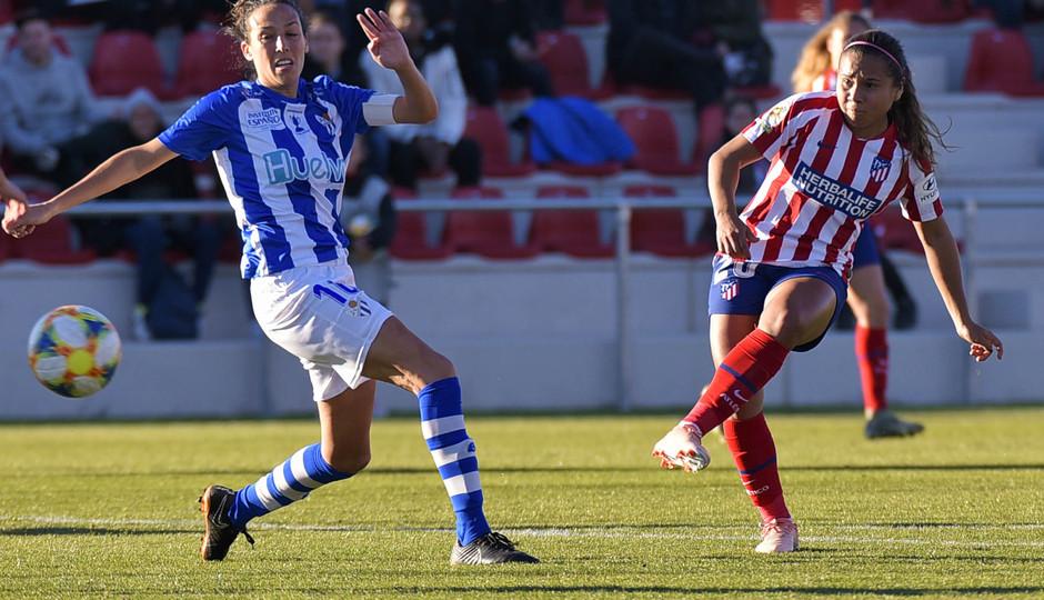 Temporada 19/20 | Atlético de Madrid Femenino - Sporting de Huelva. Santos