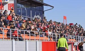 Temp 19/20 | Atlético de Madrid B - Marino de Luanco | Grada