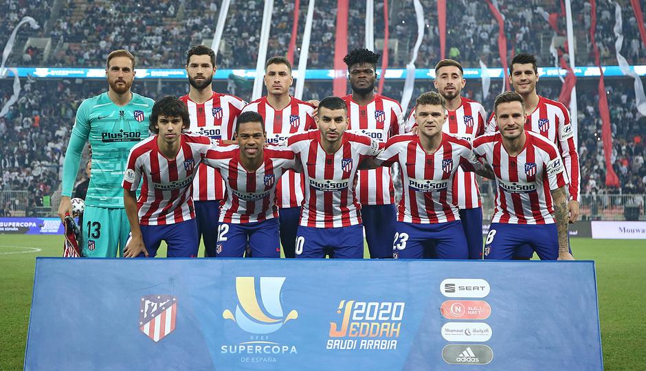 Temp 19/20 | Atlético de Madrid - Real Madrid | Once