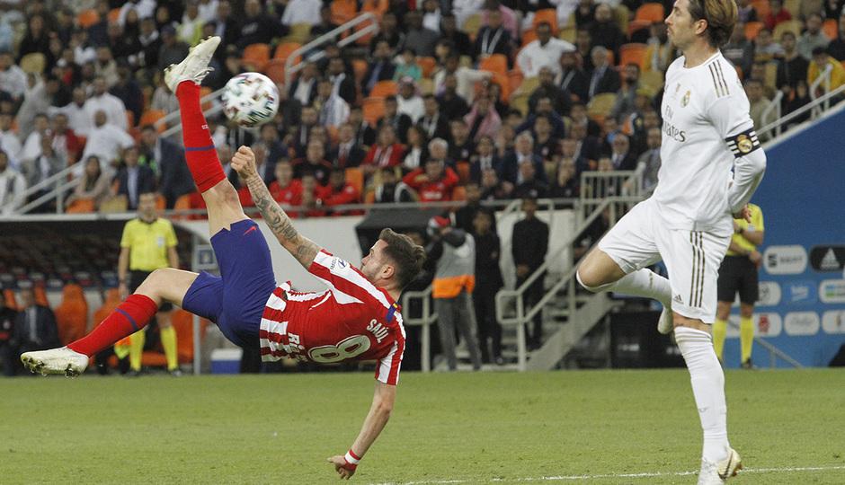 Temp 19/20 | Atlético de Madrid - Real Madrid | Saúl