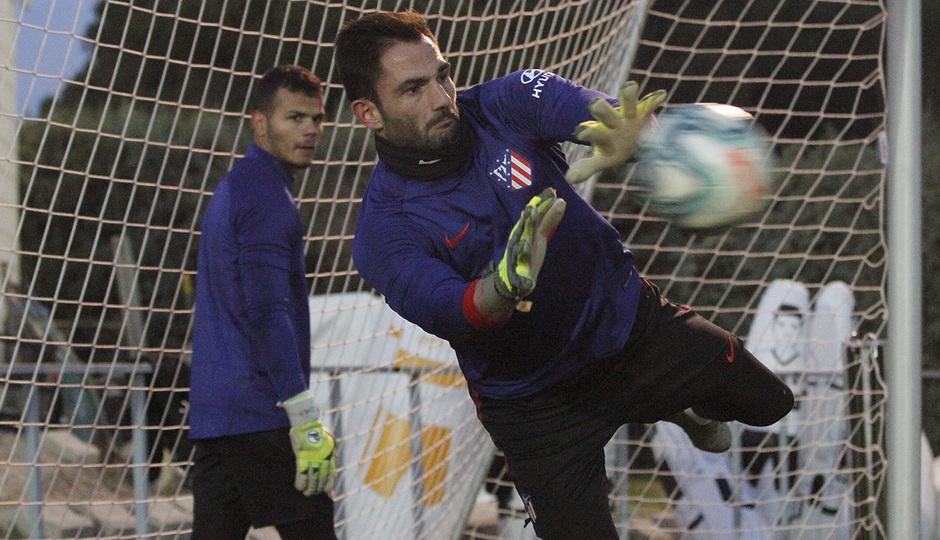 Temporada 19/20 | 14/01/2020 | Entrenamiento en la Ciudad Deportiva Wanda | Adán